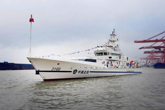 边检3166巡逻艇